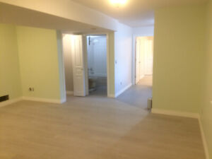 One-year-old Renovated Unfurnished 1 Room Basement for rent