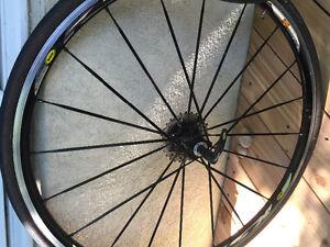 Mavic Ksyrium SSC Tubular wheels