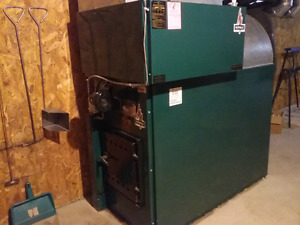 Wood-Electric forced air furnace