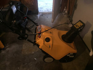 Cub Cadet Snowblower For Sale