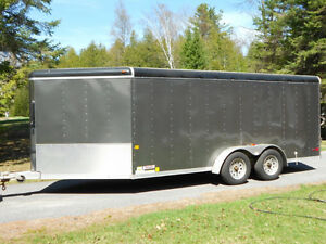 $5,500: 2011 all-aluminum 7x16foot trailer *MINT condition*