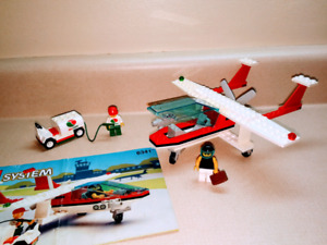 Lego 6341 Gas and Go Flyer and instructions, complete set