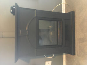 Small electric fire place