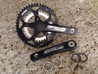 NEW - FSA OMEGA Road Bike Compact Crankset 34/50t 165mm