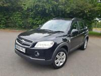 CHEVROLET CAPTIVA LT VCDI 2.0 DIESEL MANUAL BLACK 5 DOOR SUV 2010