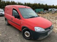 2008 Vauxhall Combo 1700 CDTI ONLY 52000 MILES Car Derived Van Diesel Manual