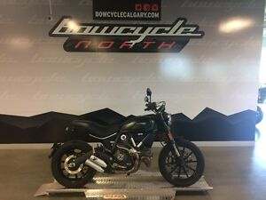 2015 Ducati Scrambler Full Throttle Deep Black
