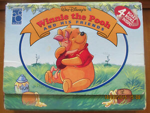 WINNIE THE POOH AND HIS FRIENDS – 4 Board Books