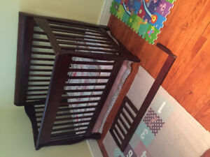 4 in 1 crib and change table matching set