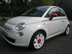 09/09 FIAT 500 POP 3DR HATCH IN WHITE WITH ONLY 47,000 MILES