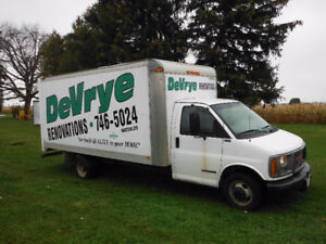 1999 Ford E-350 Cube Van selling certified
