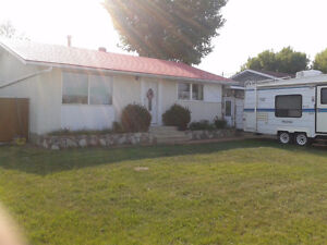 Available Oct 1st 3 Bedroom house  Peace River Alberta