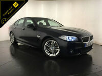 2015 BMW 530D M SPORT AUTOMATIC DIESEL SALOON 1 OWNER SERVICE HISTORY FINANCE PX