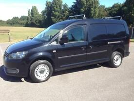 VW CADDY MAXI C20 TDI IN BLACK 2012 REG