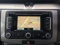 Genuine VW RNS 310 Sat Nav SD Stereo CD Player RNS510 315 Golf Caddy T5 GTI R32 Skoda Passat Leon