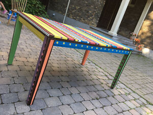 Funky Wooden Table!