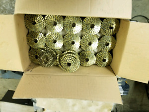 Coiled roofing nails and Tar paper for sale