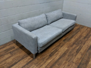 (Free Delivery) - Grey Ikea Karlstad Sofa Bed