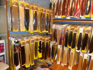 WE SELL 100% REAL REMY HUMAN HAIR EXTENSIONS AND BEAUTY SUPPLY!