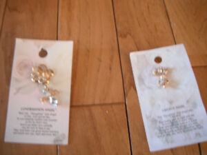 Confirmation angel, I believe angel pins