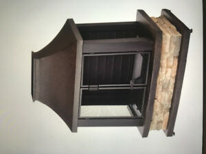 Outdoor wood burning fire place for sale