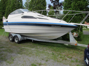 bayliner 2155 1988 omc cobra ready for summer