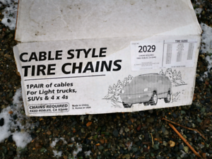 Tires chains