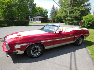 SELL OR TRADE--1973 MUSTANG CONVERTIBLE--FULL RESTORATION--