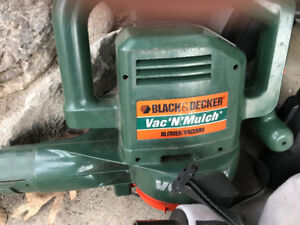 B and D leaf mulch and blow
