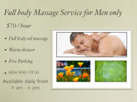 (((($70/h)))) Full Body Relaxation Oil Massage by Asian Male