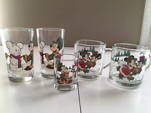 Various Christmas Holiday Coffee Cups & Glasses