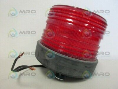 North American Signal Nf500-acr Red Strobe Light Used