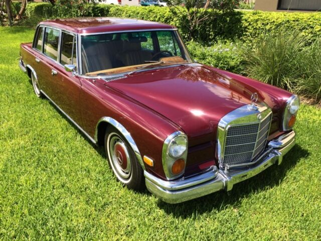 Mercedes-Benz : 600-Series 1972 Mercedes 600 SWB W100 Low Production of 2,190 No Reserve