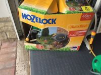 25m hozelock wall attached hose