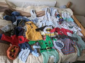 Bundle of baby boy clothes 6-9, 9-12m.