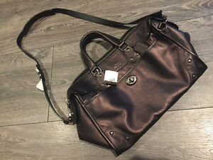 COACH Purple Purse Brand NEW 33739 Rhyder 100% REAL with TAGS