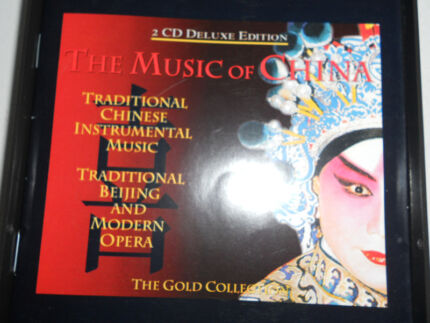Music Of China Gold Collection 2 CD deluxe ed songs Chinese vocal Carindale Brisbane South East Preview