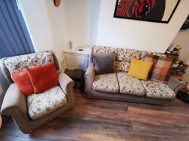 3 Seater Couch and Seat