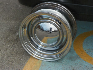 HELP ME SELL 4 MINT CHROME STEEL RIMS.BY USA WHEELS