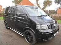 2006 VOLKSWAGEN TRANSPORTER T30 85 T5 TDi CAMPER CONVERSION~DUB EDITION PX SWAP