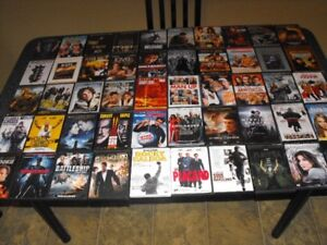 Lot DVD 780 films + Blu-Ray 420 films + Serie