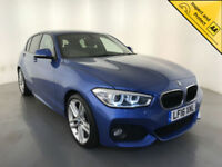 2016 BMW 120D M SPORT DIESEL AUTOMATIC HATCHBACK 1 OWNER SERVICE HISTORY FINANCE
