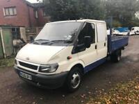 Ford Transit 2.4TDI LWB Drop Side Utility Cab
