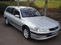 Peugeot 406 2.0 HDI 110 RAPIER (silver) 2002