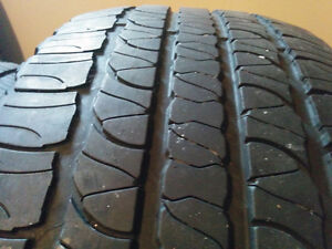 Goodyear Fortera H/L- 245/60/R18 - Good Tires Two left - $80 Windsor Region Ontario image 2