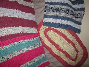 handmade rag rugs St. John's Newfoundland image 1