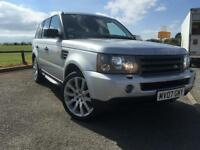 2007 LAND ROVER RANGE ROVER SPORT 2.7 TDV6 SPORT HSE 5d AUTO ONLY 1 FORMER