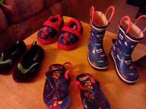 Lot of toddler shoes - boys (8 pairs)