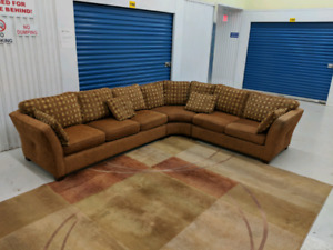European  Sectional L-Shape Fabric Sofa Martin Daniel Toronto