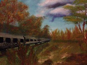 Oil base paintings